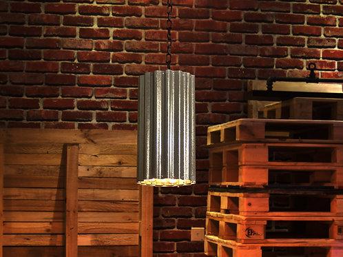 Corrugated Sheet Pendant Light