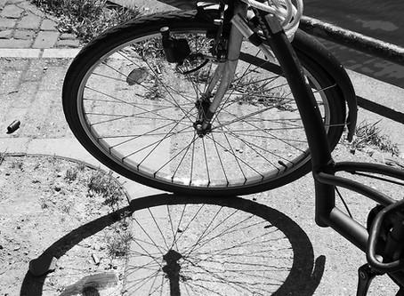 Al fietsend naar de Zaterdag Kunstborrel