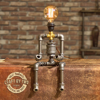 Dubai Steampunk Desklight