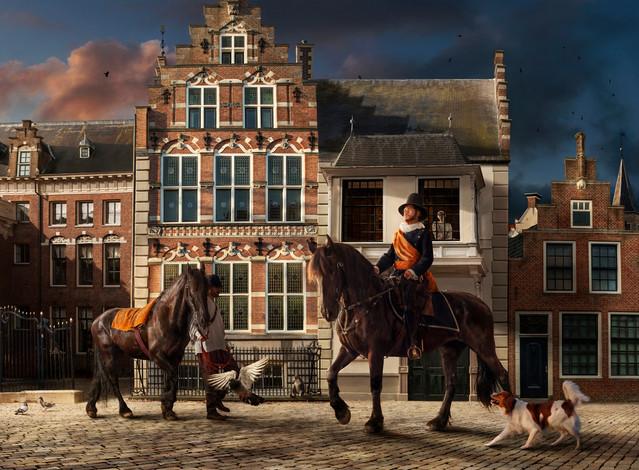 Willem Lodewijk van Nassau     Uit de serie Leeuwarden Lonkt