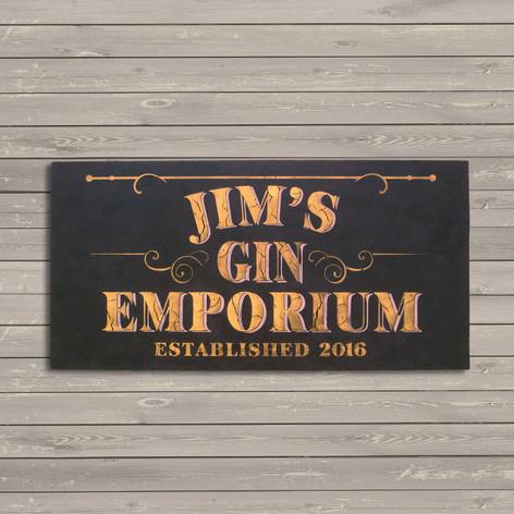 Jim's Gin Emporium