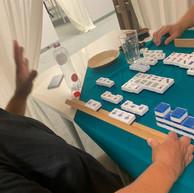 20 augustus 2020  Colette maakte de hele avond geen mahjong behalve in het laatste spel waarin ze de Vier Kleine Winden maakte die haar 2 tafelpunten opleverden