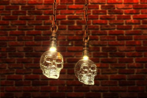 The Skull Pendant Light