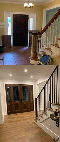 Entry- Before & After