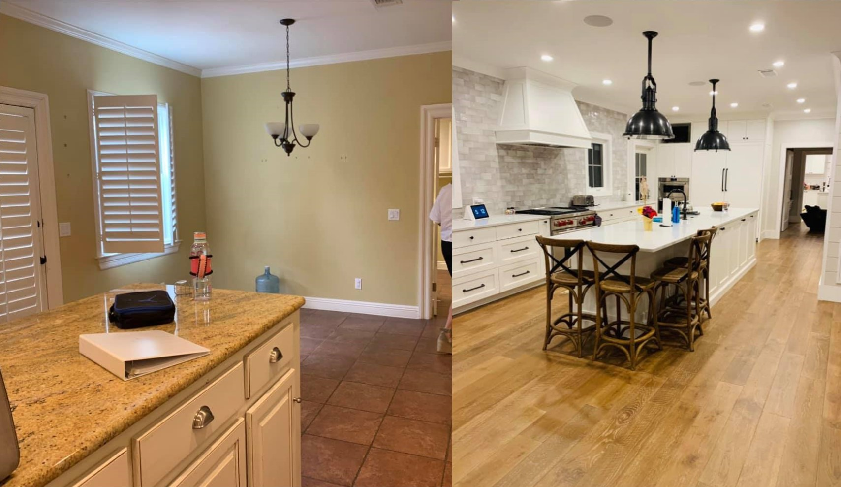 Kitchen- Before & After (2)