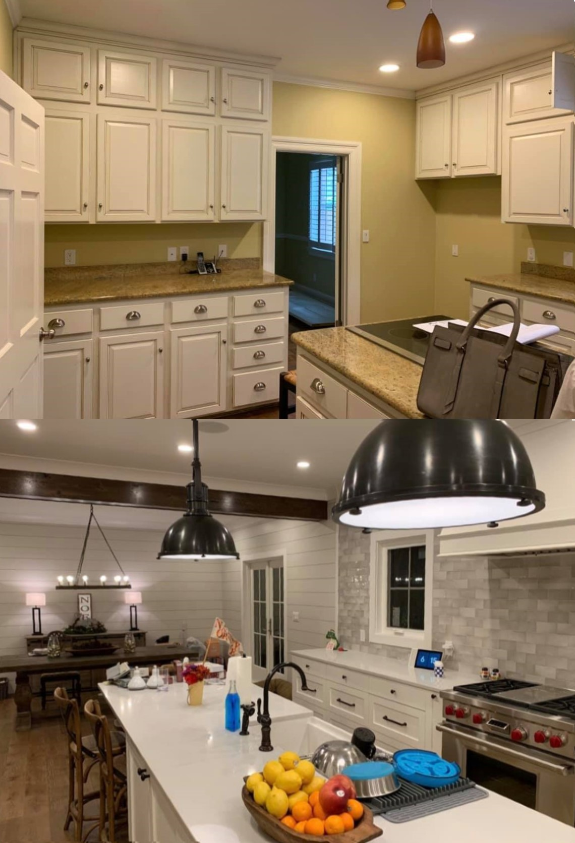Kitchen-Before & After