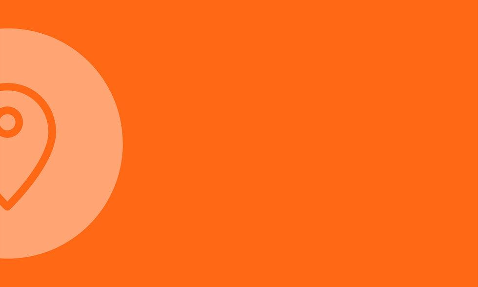 Fairfuehrer Pin auf orangem Background
