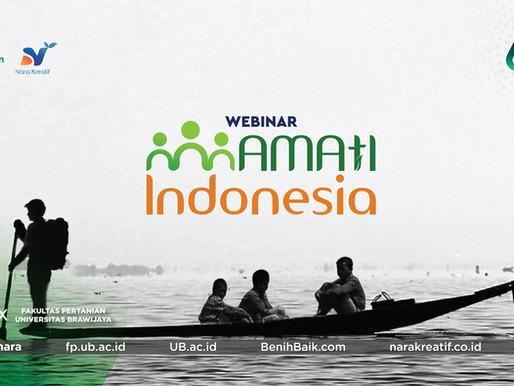 Nara Menyelenggarakan Webinar AMATI Indonesia Bersama Fakultas Pertanian Universitas Brawijaya