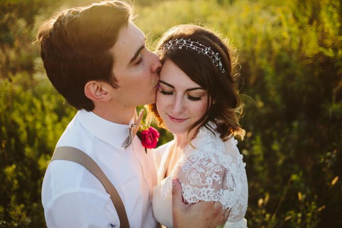 Cole + Emily // Iowa Vineyard Wedding