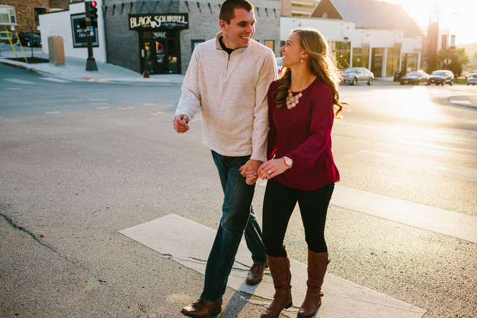 Thomas + Brittni // Nebraska Fall Engagement