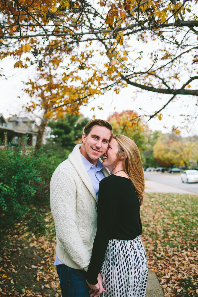 Kaj + Caroline // Nebraska Fall Engagement