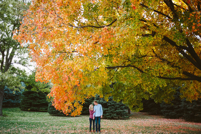 Joe + Alex // Nebraska Fall Engagement