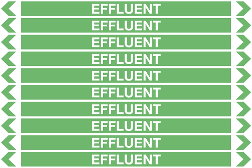 EFFLUENT - Water Pipe Markers
