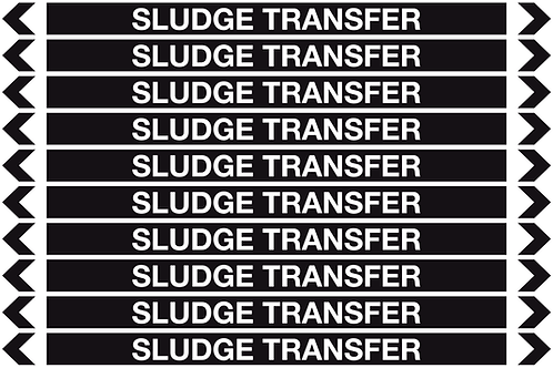 SLUDGE TRANSFER - Misc. Pipe Markers