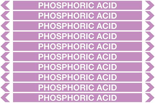 PHOSPHORIC ACID - Alkalis / Acids Pipe Markers