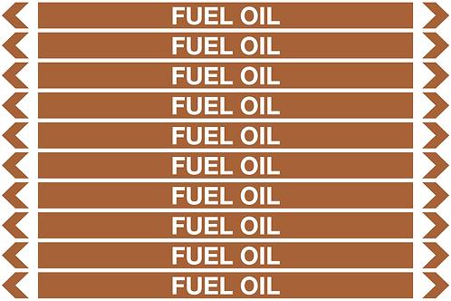 FUEL OIL - Oil Pipe Marker