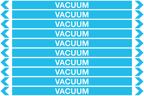 VACUUM - Air Pipe Markers