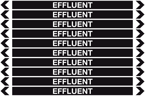 EFFLUENT - Misc. Pipe Markers
