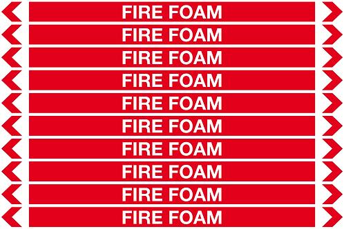 FIRE FOAM - Fire Pipe Marker