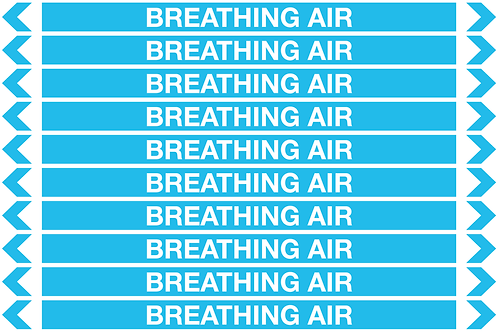 BREATHING AIR - Air Pipe Markers