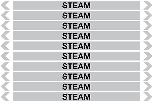 STEAM- Steam Pipe Markers