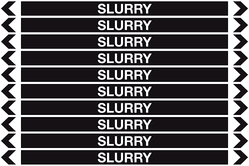 SLURRY - Misc. Pipe Markers