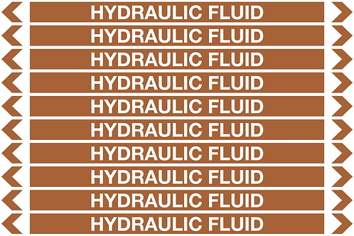 HYDRAULIC FLUID - Oil Pipe Marker