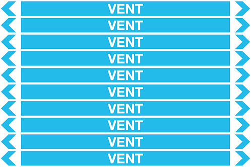 VENT - Air Pipe Markers