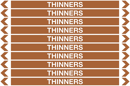 THINNERS - Oil Pipe Marker