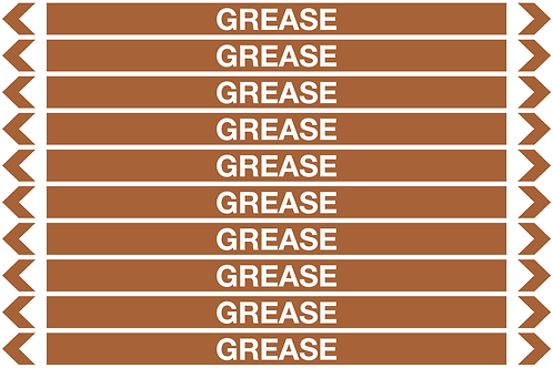GREASE - Oil Pipe Marker