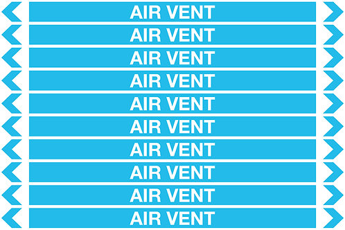 AIR VENT - Air Pipe Markers