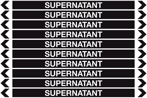 SUPERNATANT - Misc. Pipe Markers