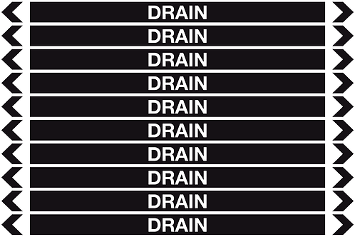 DRAIN - Misc. Pipe Markers