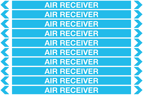 AIR RECEIVER - Air Pipe Markers
