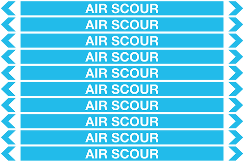 AIR SCOUR - Air Pipe Markers