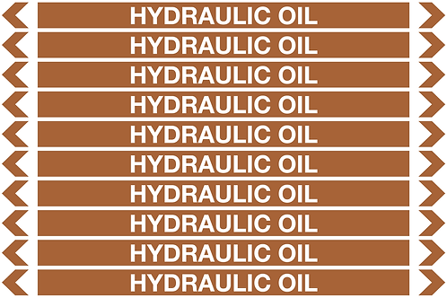 HYDRAULIC OIL - Oil Pipe Marker
