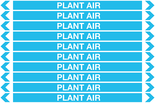 PLANT AIR - Air Pipe Markers