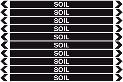 SOIL - Misc. Pipe Markers