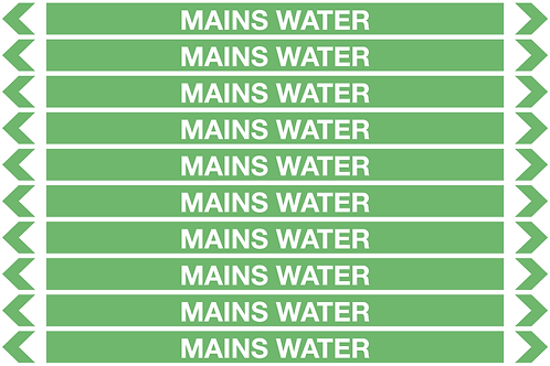 MAINS WATER - Water Pipe Markers