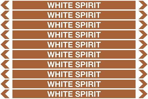 WHITE SPIRIT - Oil Pipe Marker