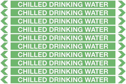 CHILLED DRINKING WATER - Water Pipe Markers