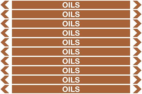 OILS - Oil Pipe Marker