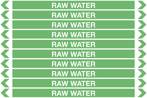 RAW WATER - Water Pipe Markers