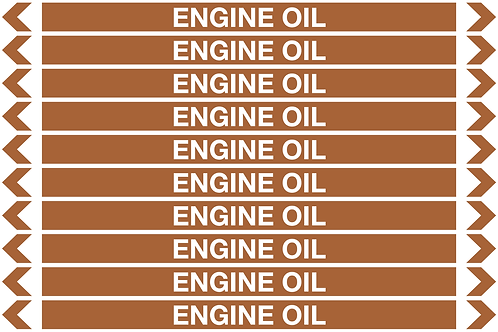 ENGINE OIL - Oil Pipe Marker