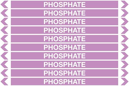 PHOSPHATE - Alkalis / Acids Pipe Markers