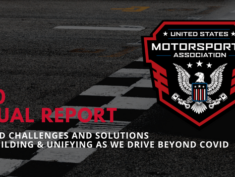 RACING 2020 where we've been, where we're going USMA Annual Report