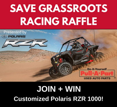 Polaris RZR Highlights SAVE GRASSROOTS RACING™ Campaign