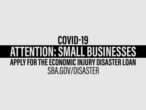 SMALL BUSINESS ADMINISTRATION DISASTER LOANS NOW AVAILABLE