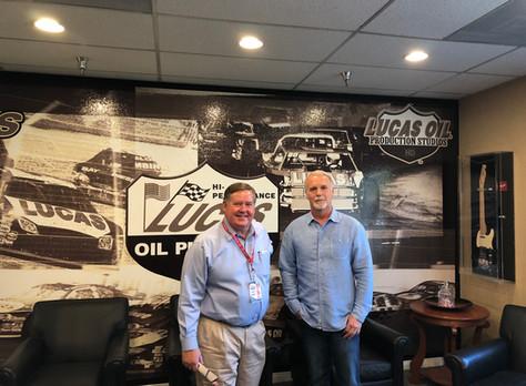 U.S. Congressman Ken Calvert Tours Lucas Oil & MAVTV; USMA Thanks Congressman for Support of RPM