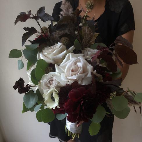 Large bridal bouquet